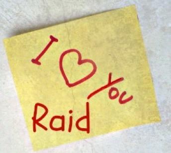 Raid Love note