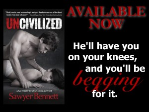 Uncivilized promo