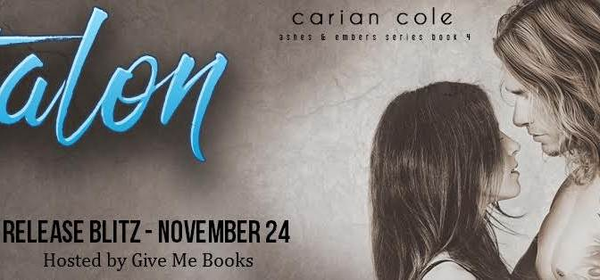 Release Blitz (Book Review, Excerpt & Giveaway): Talon by Carian Cole