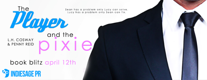 Release Blitz: The Player and the Pixie by L.H. Cosway and Penny Reid