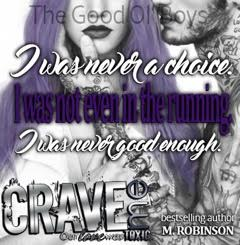 Release Blitz: Crave Me by M. Robinson